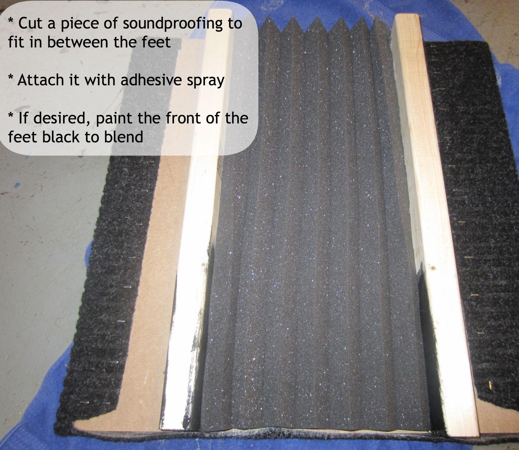 How to #DIY a Subwoofer Isolation Pad {SandpaperAndGlue com