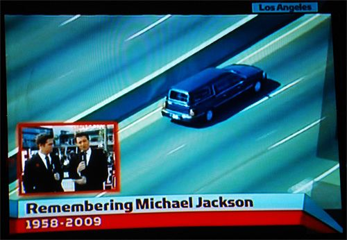 Michael Jackson's Hearse On The...