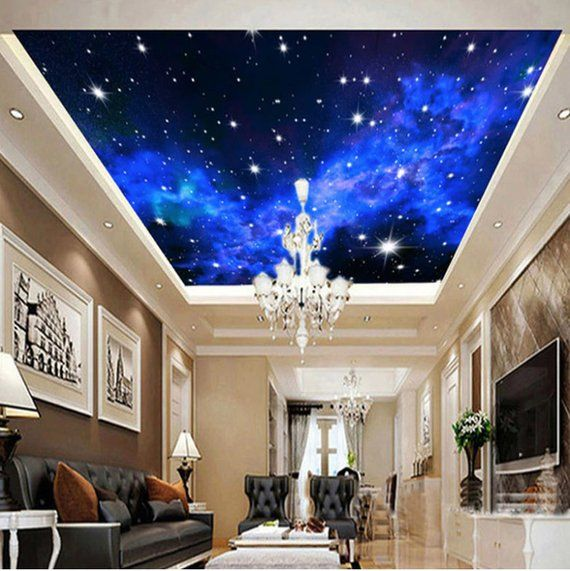 Stars Sky Ceiling Night View Wallpaper Night Stars