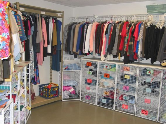Iu0027m Becoming A Fan To The Idea Of A Family Closet! Easy Is
