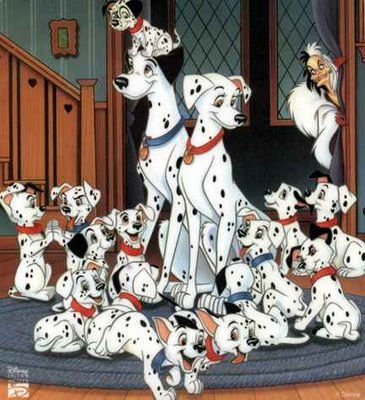 101 Dalmatas Ano 1961 Disney Animals Disney 101 Dalmatians 101 Dalmatians Cartoon