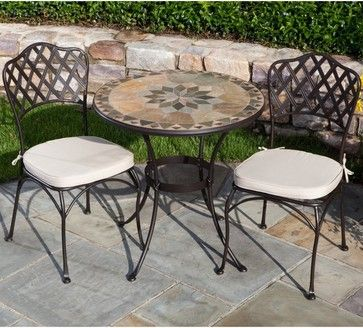 Mosaic Bistro Table Sets Dame Marble Set