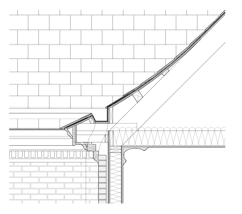 Eave Detail Building Science In 2019 Roof Eaves Roof