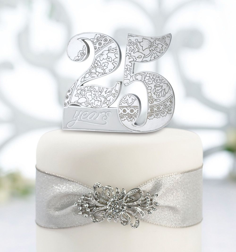 25th Wedding Anniversary Cake Ideas: 25Th Anniversary Cake Pick