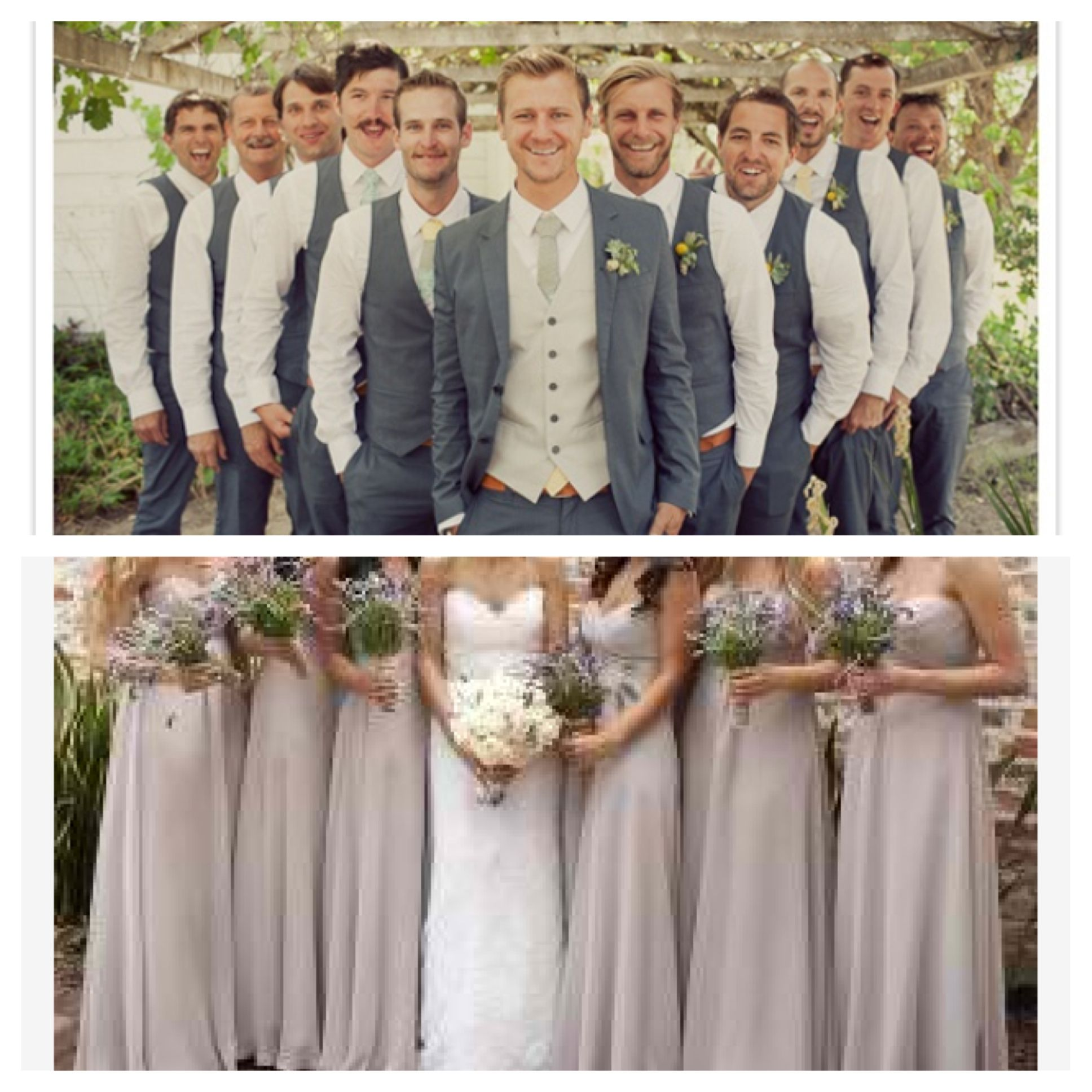 Now thats a good looking wedding party i love grey nude now thats a good looking wedding party i love grey nude together ombrellifo Images