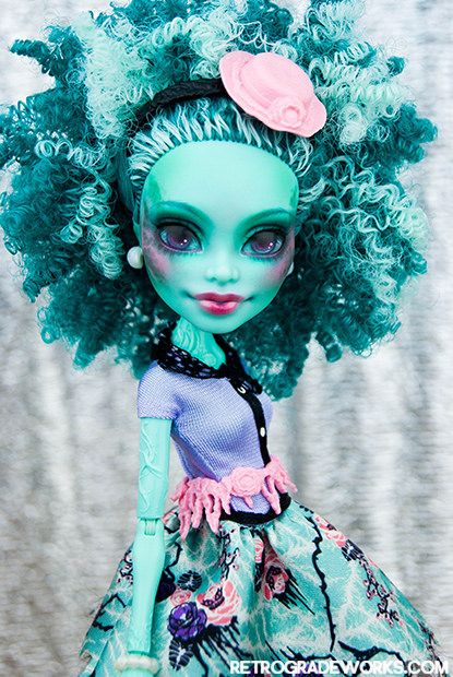 Custom Monster High Honey Swamp Doll Repaint by Retrograde