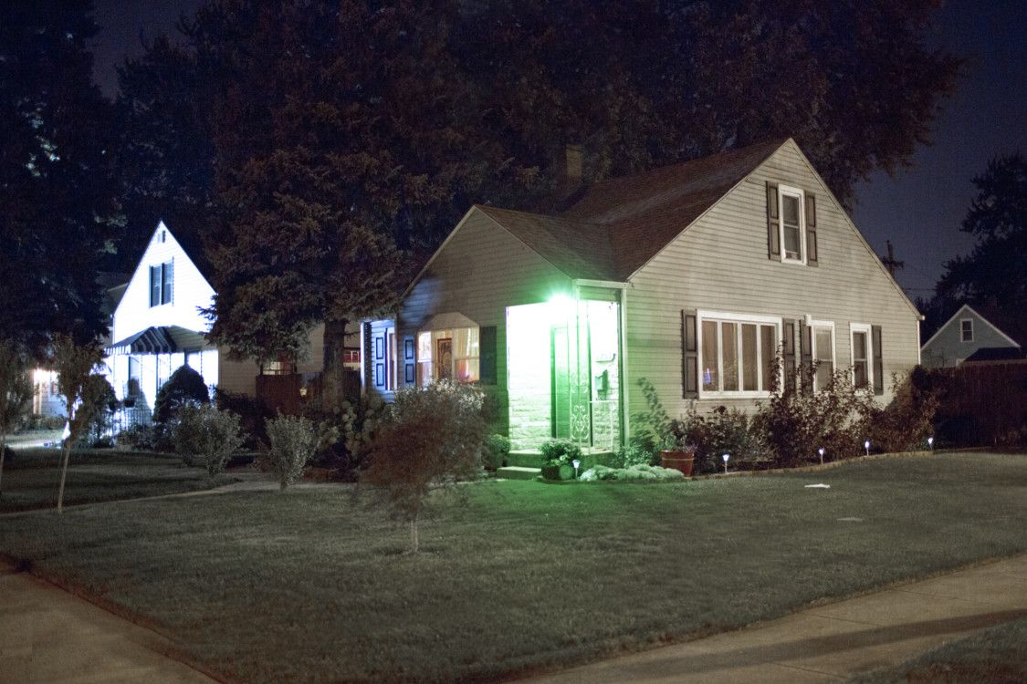 Behind The Bulb Why Greenlighting Veterans Matters Porch Lighting House Front House