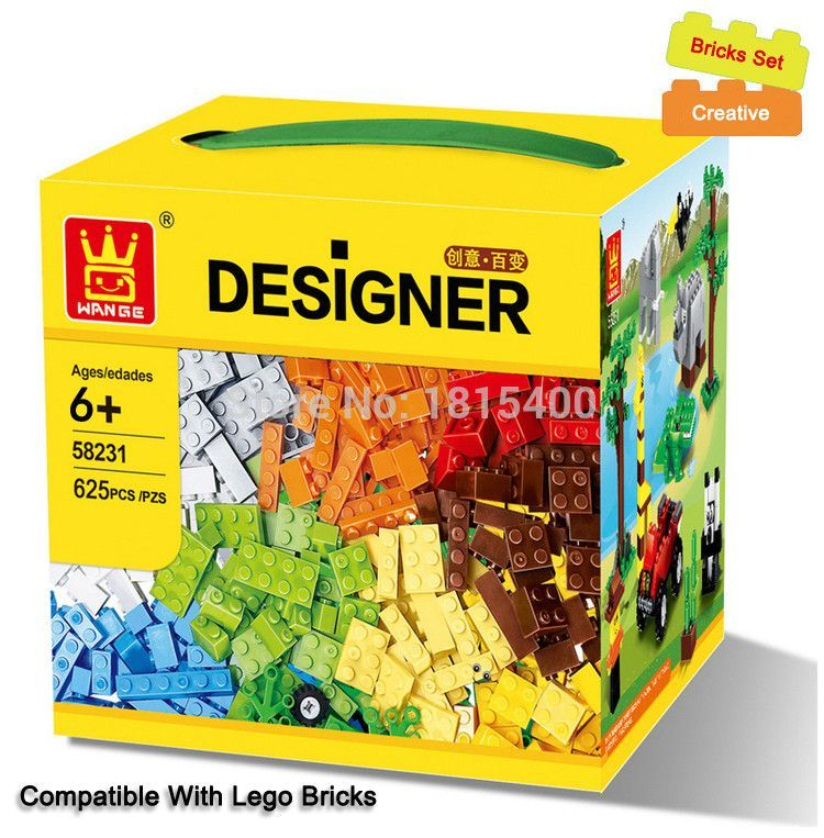 Educational Building Blocks Compatible With Lego Bricks Parts