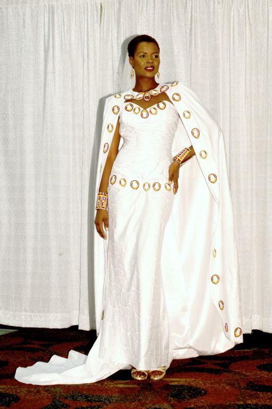 African wedding dresses for bride girl dresses with for White african wedding dress