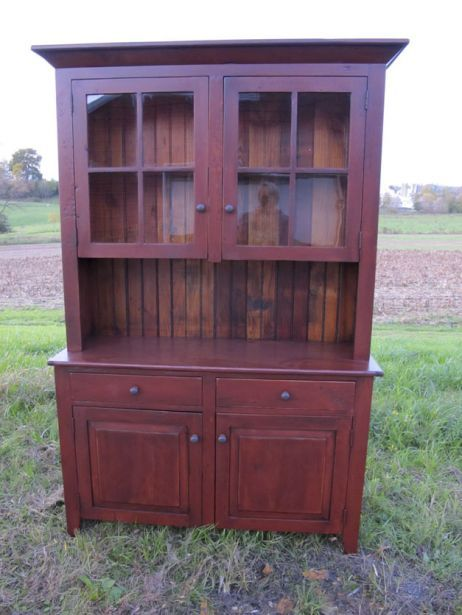 Barnwood Furniture | Furniture From The Barn | Reclaimed Barnwood Furniture  |. Red Painted FurniturePainted HutchRustic ...