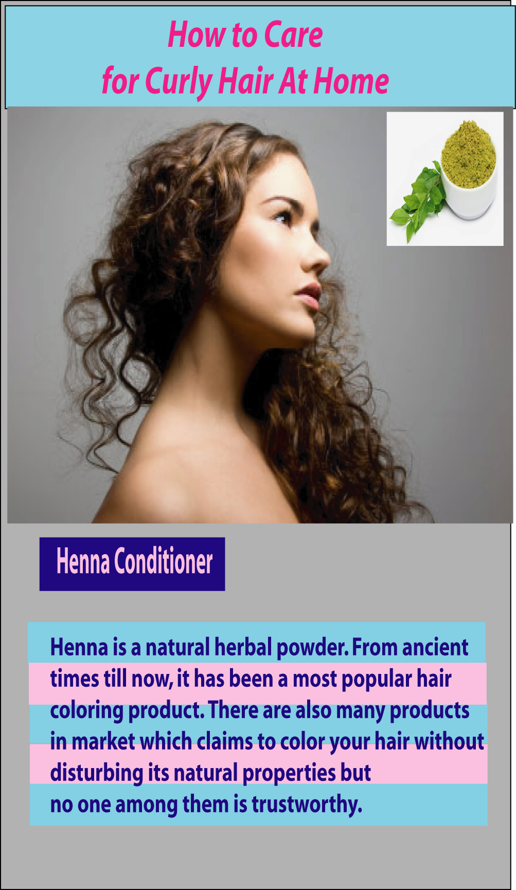 How to Care for Curly Hair At Home Naturally Curly Hair