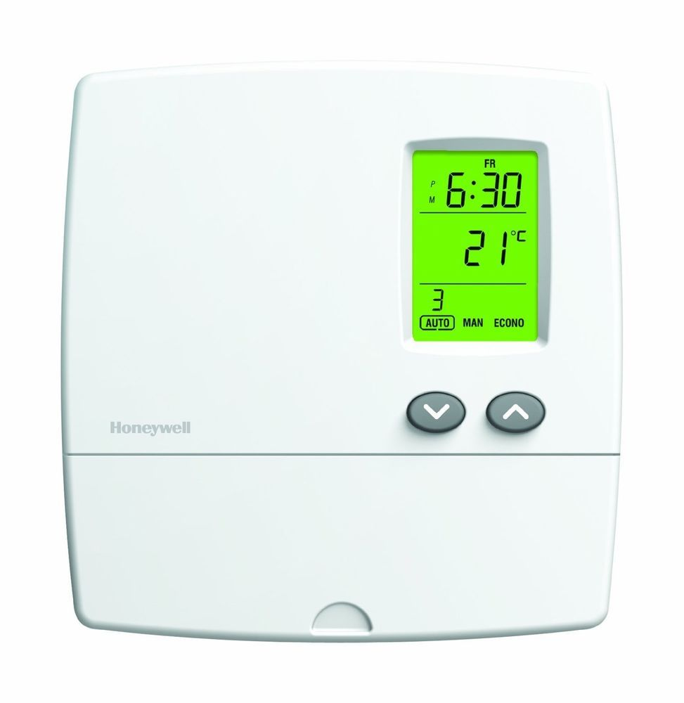 Honeywell Programmable Thermostat Honeywell Yrlv4300a Electronic 5 2 Day Programmable Thermostat