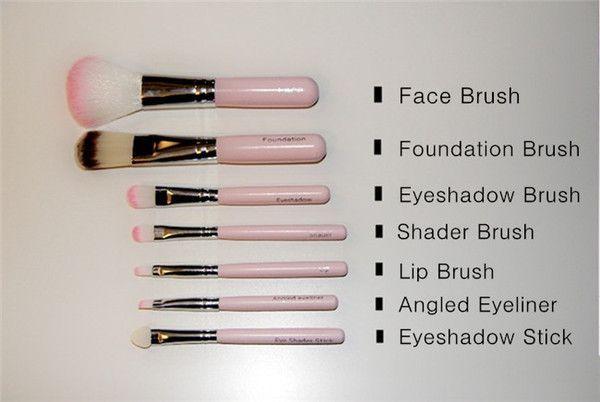 Hello Kitty Make Up Cosmetic Brush Kit Makeup Brushes Pink Iron Case Pink Makeup Brush Pink Makeup Brushes Set Makeup Brush Kit