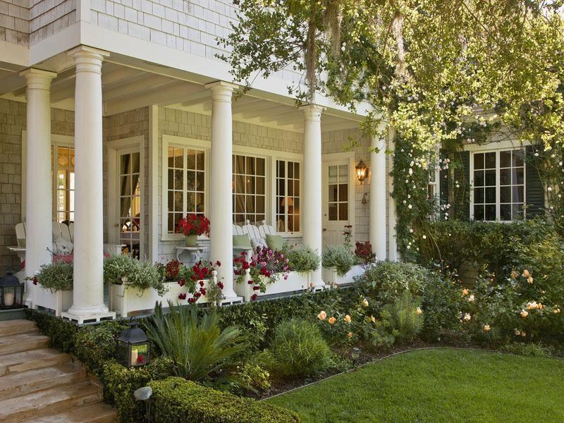 Splendor in the South Porches Pinterest Casas soñadas