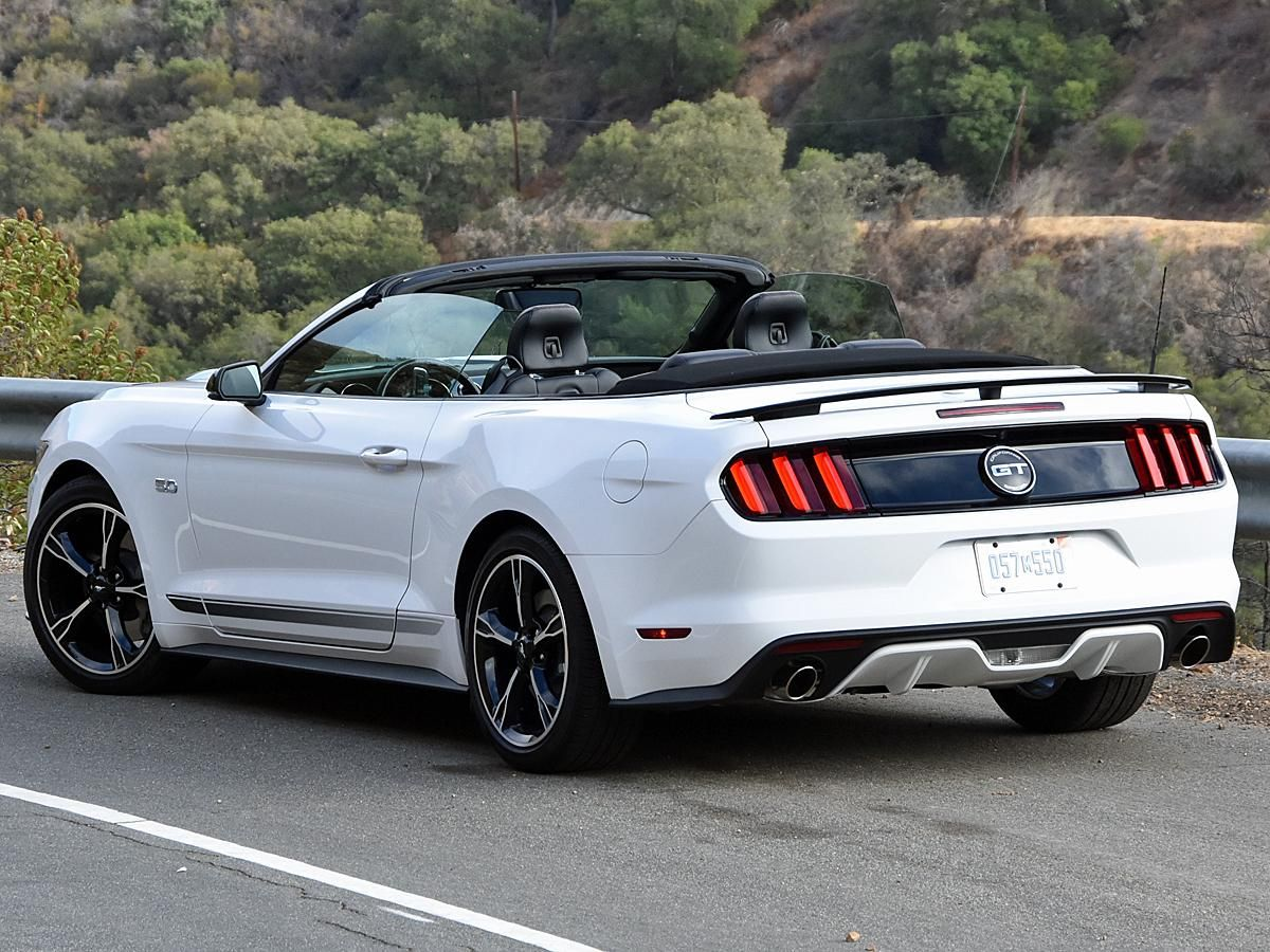 2017 ford mustang gt convertible california special edition white rear left quarter photos. Black Bedroom Furniture Sets. Home Design Ideas