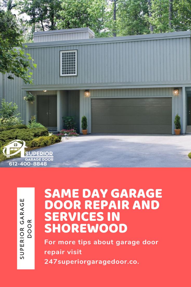 Same Day Garage Door Repair And Services In Shorewood Garage Door Garagedoor Garageservices Garagedoorrepair Garage Doors Door Repair Garage Door Repair