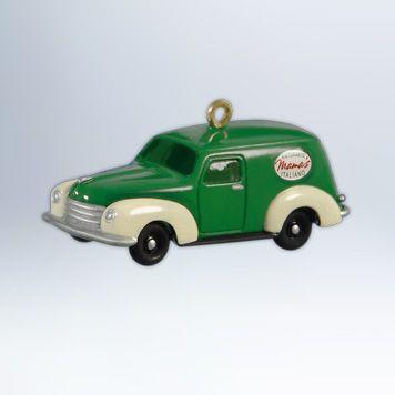 Mama's Delivery Van Hallmark Keepsake Ornament. Available July 14!