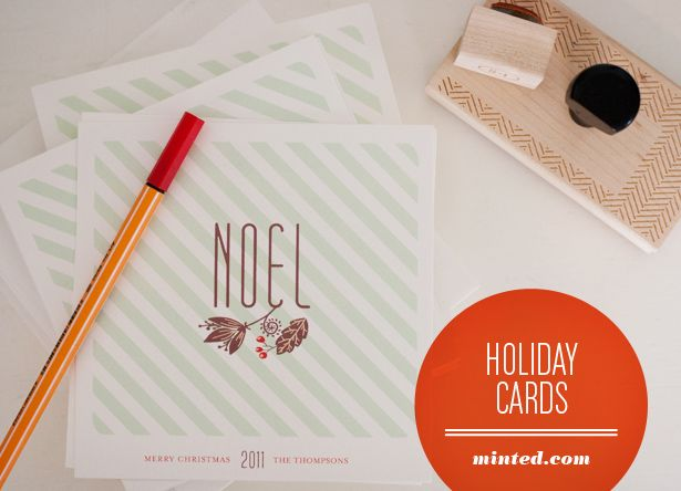 Holiday cards minted com