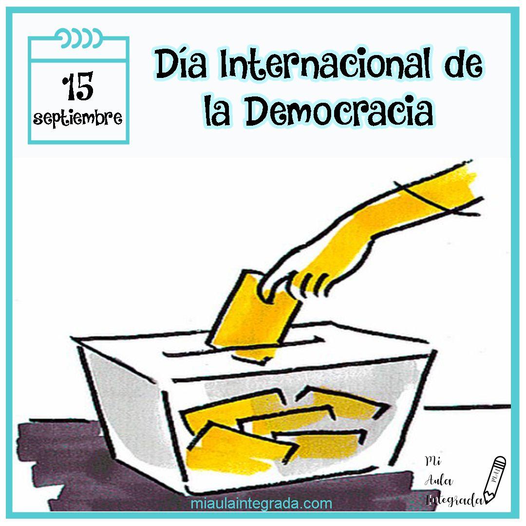 Dia Internacional De La Democracia Letters Fictional Characters Character
