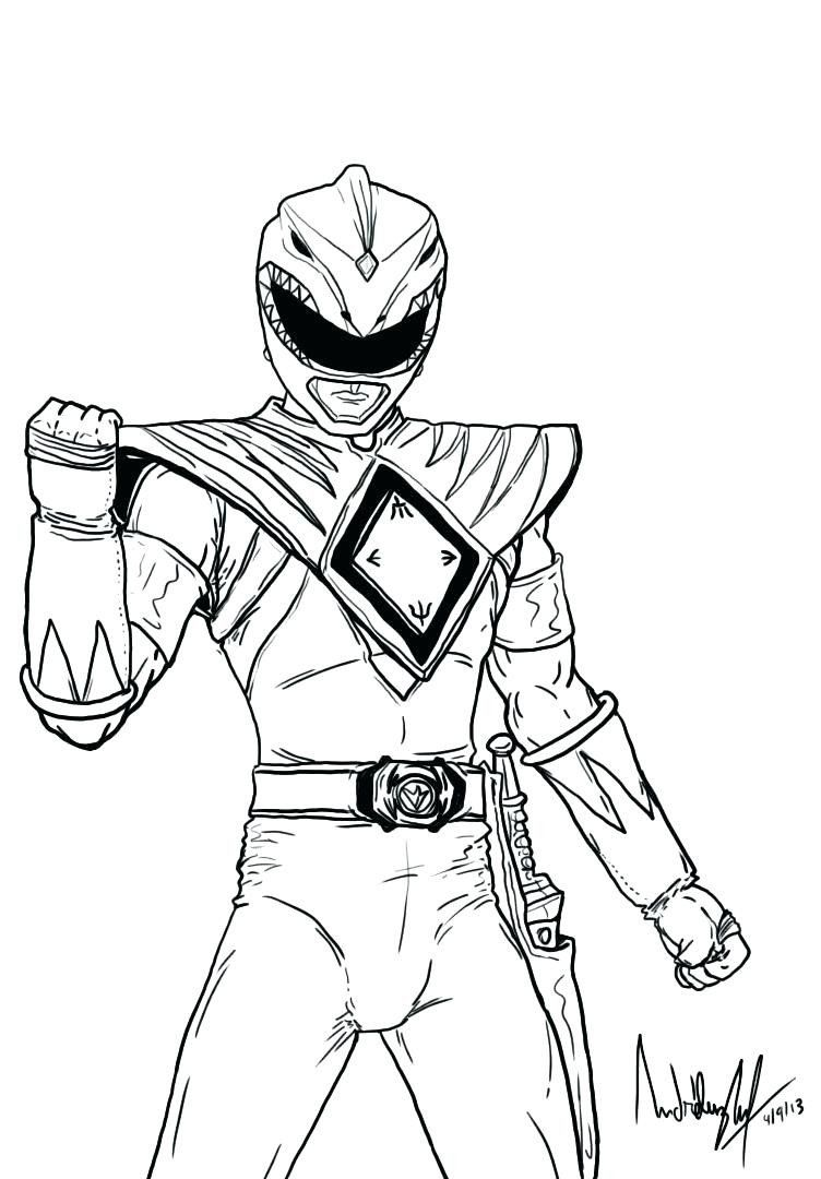 30 Awesome Power Ranger Coloring Pages in 2020 (With