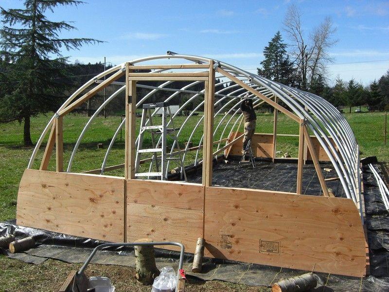 DIY Hoop Greenhouse Greenhouse plans, Diy greenhouse