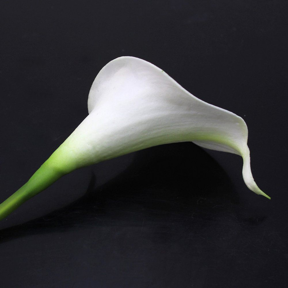 Amazon.com - Calla Lily Bridal Wedding Party Decor Bouquet 20 heads Latex Touch Flower Bunch -