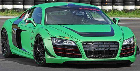 2012 Racing One Audi R8 V10: 5.2 Liter V10 DOHC with 610 Horsepower ...