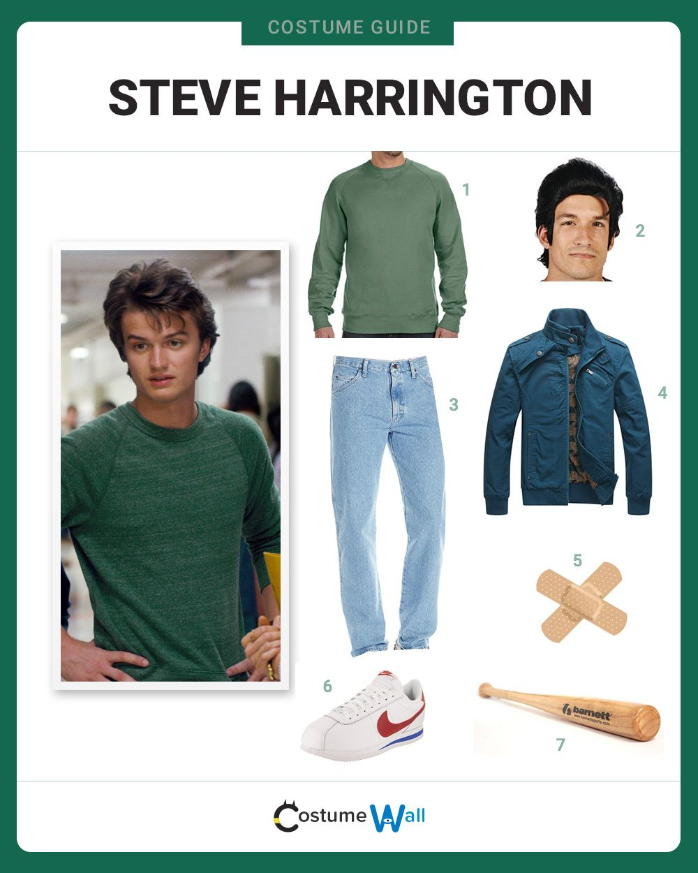 dress like steve harrington  stranger things halloween