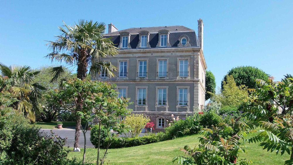 Vue de la Maison de Séraphin côté parc