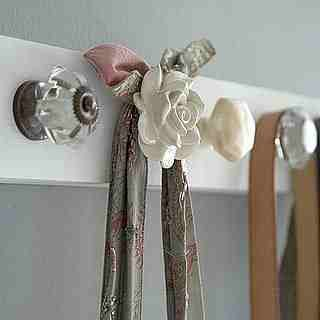 Bigger drawer pulls for heavier objects, such as purses, bags, etc.