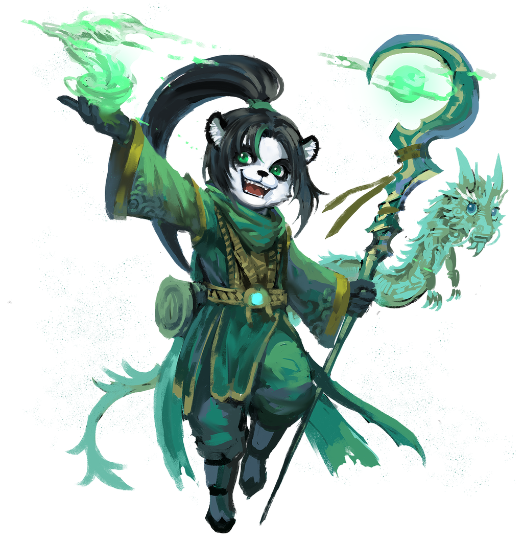 Jade Forest Lili By Yy6242 Deviantart Com On Deviantart Warcraft Art Dungeons And Dragons Characters Character Art