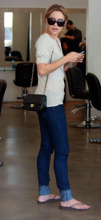 4e24f65a10f3 Lauren Conrad sporting a  Chanel Mini  Flap