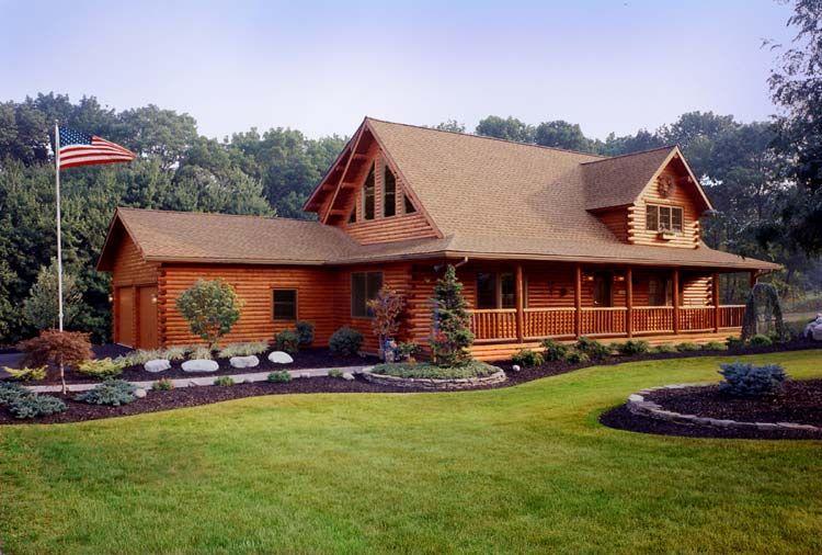 COUNTRY WESTERN HOMES | Log Homes, Ward Cedar Log Homes, Design a ...