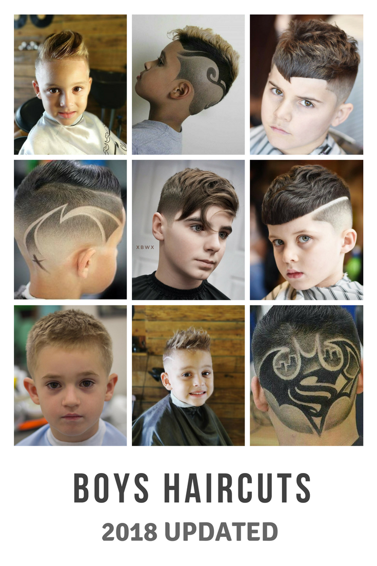 Boy haircuts 2018 boys hairstyles the coolest top  boys hair cuts for  trending