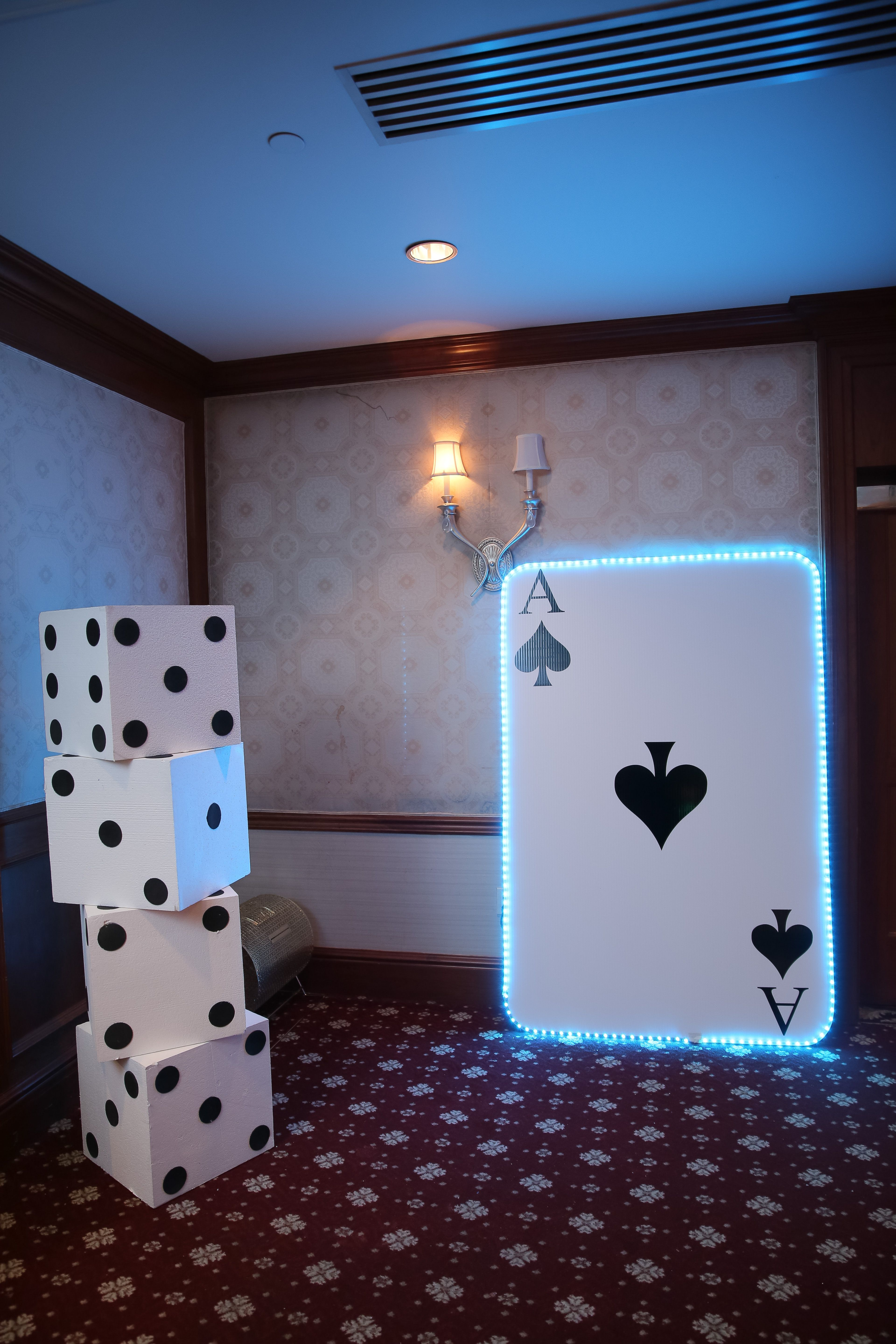 casino decor for casino party or boardwalk empire party or event - Casino Decorations