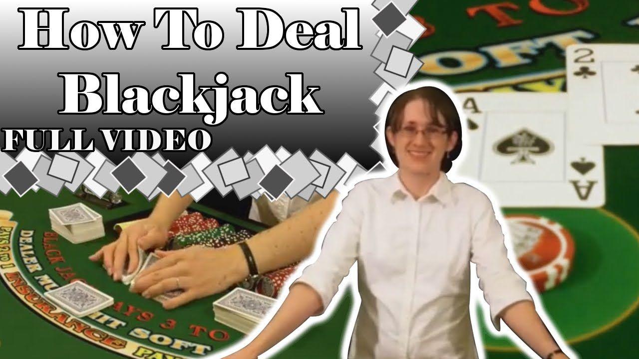 How to Deal Blackjack FULL VIDEO Learning, Casino
