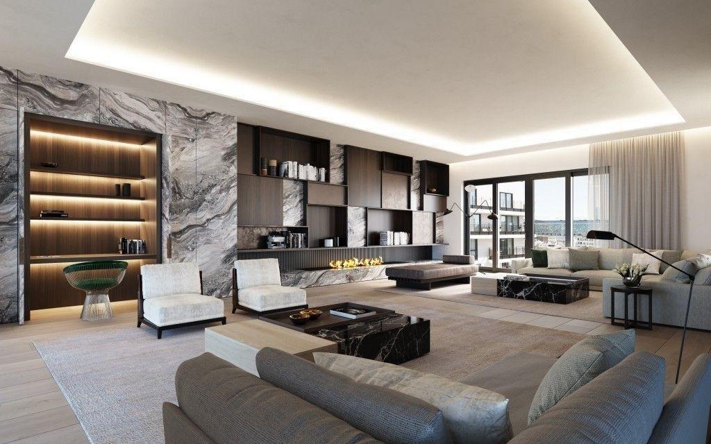 99 Rustic Penthouse Apartment Design Ideas For You Apartment Design Mansion Interior Penthouse Apartment Design