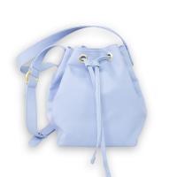 e215b1f100d18 Bucket bag - KARI iced lavender - vegan bag made of appleskin - apple  leather -