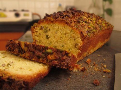 Pistachio Citrus Pound Cake