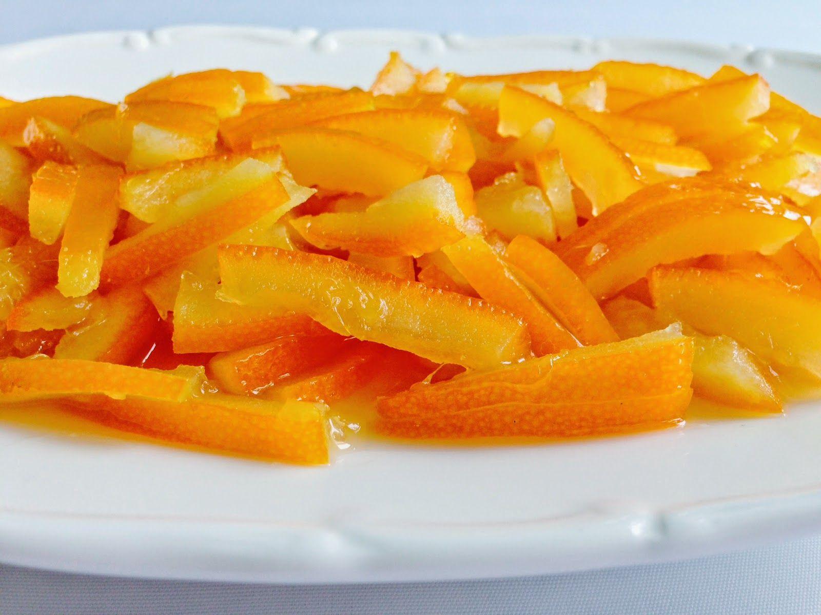 Portakal Kabuğu Reçeli