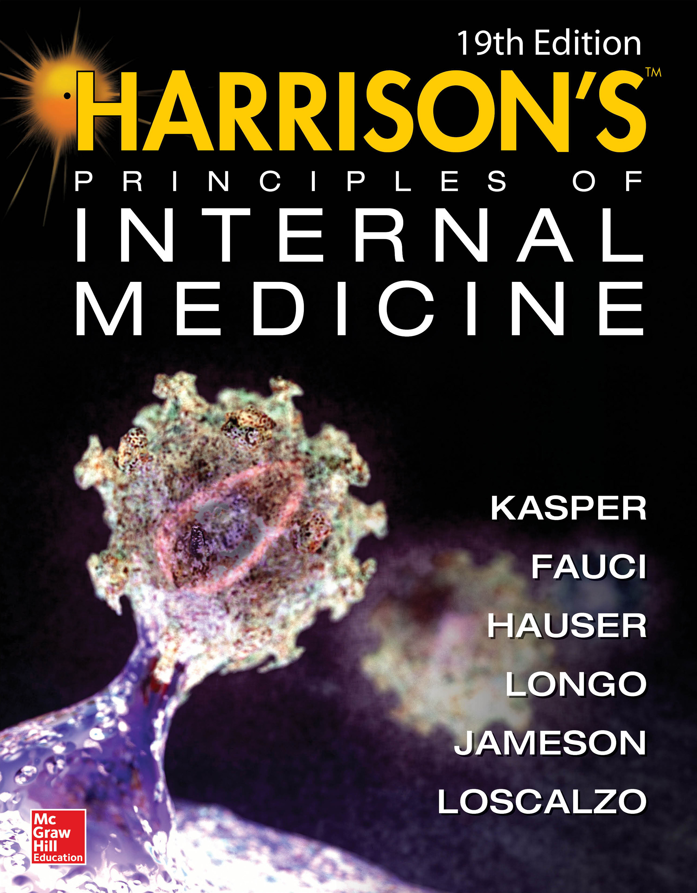 The New 19th.ed. 2015 of Harrison\'s Principles of Internal Medicine ...