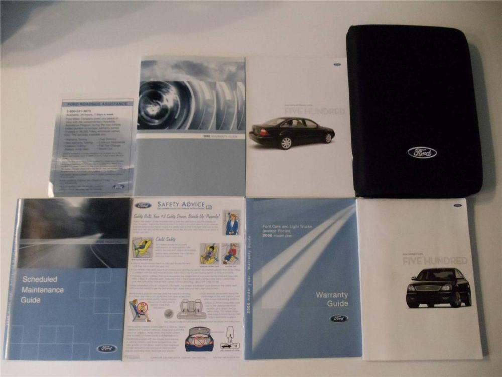 2006 ford taurus se owners manual
