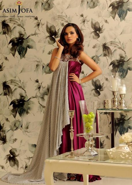 Asim Jofa Lawn 2013 Summer Party Prints Collection