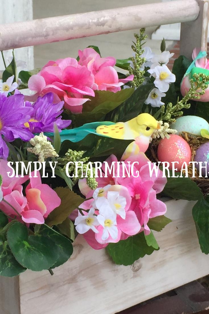 Tabletop Floral Arrangement/spring Tool Caddy Arrangement