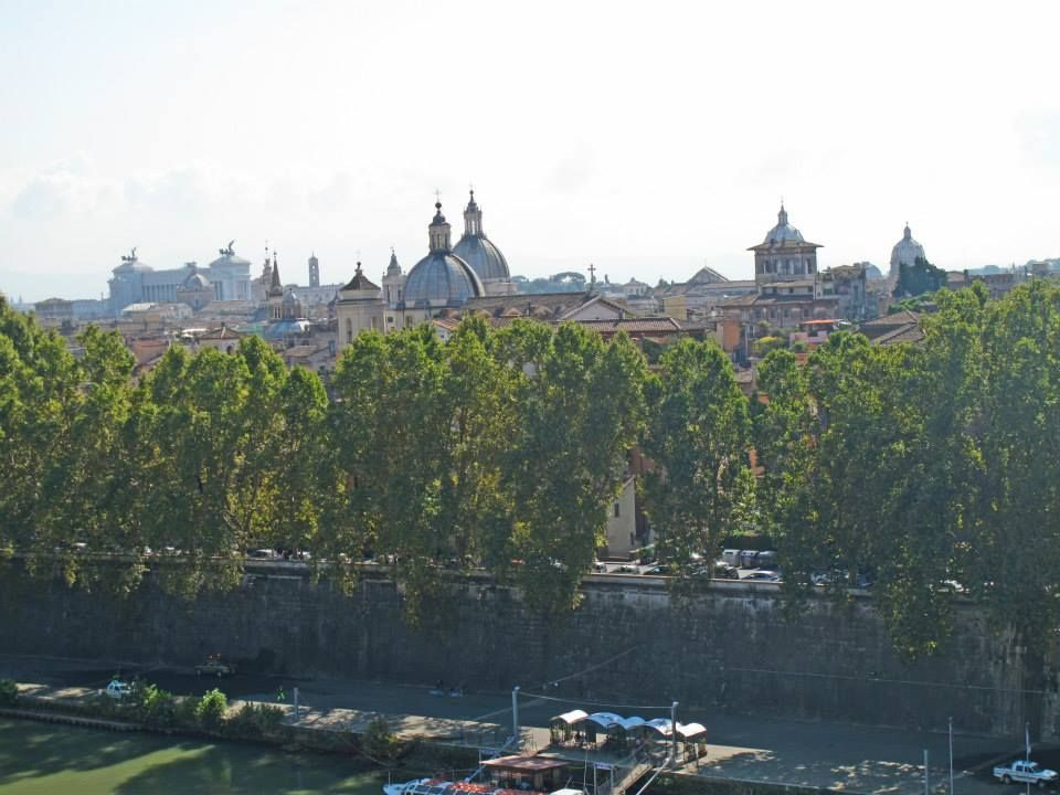 View of Rome from Castel Sant' Angelo, Rome