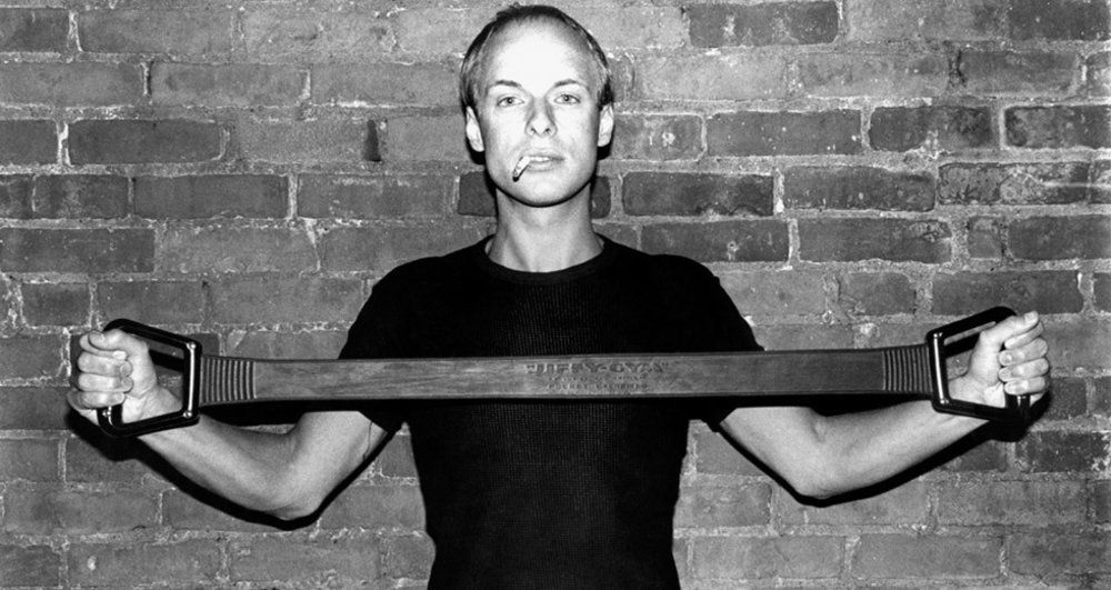 Brian Eno in New York City [198?] - Imgur