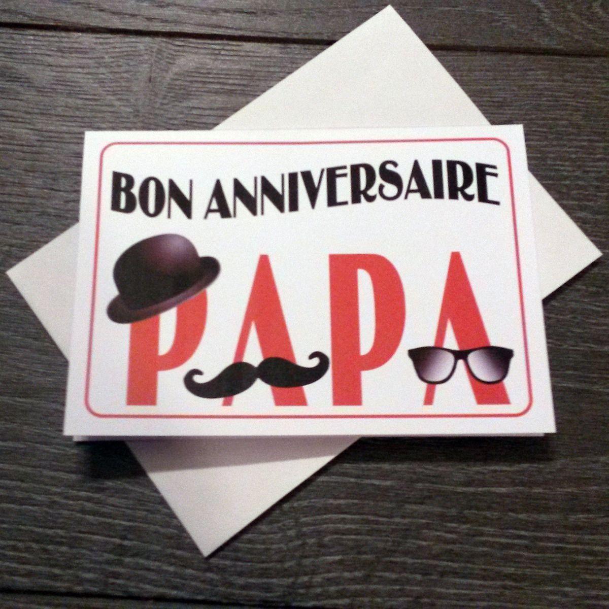 Carte Bon Anniversaire Papa Moustache Anniversaire Pinterest Dedans Carte Anniversaire Pap Bon Anniversaire Papa Carte Bon Anniversaire Anniversaire Papa