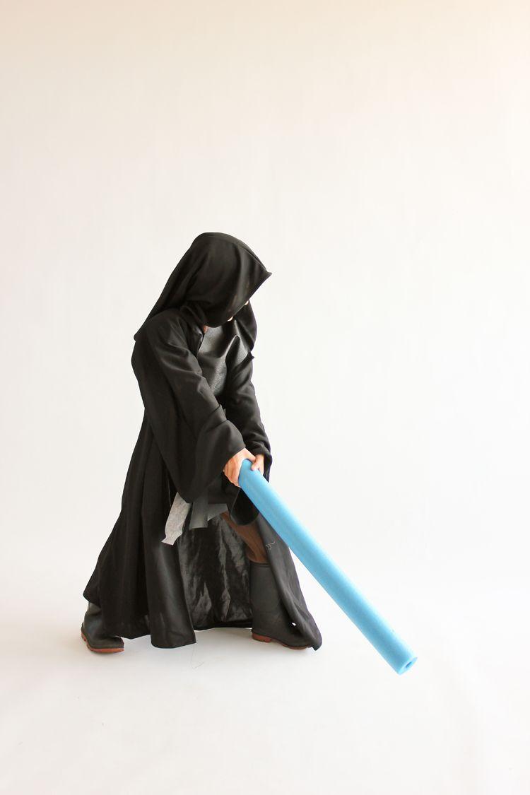 Star Wars Jedi Costume Tutorial // Delia Creates | Niños | Pinterest ...