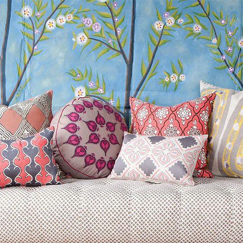 Courtesy John Robshaw Decorative Pillows For Home Pinterest Delectable Gracious Home Decorative Pillows
