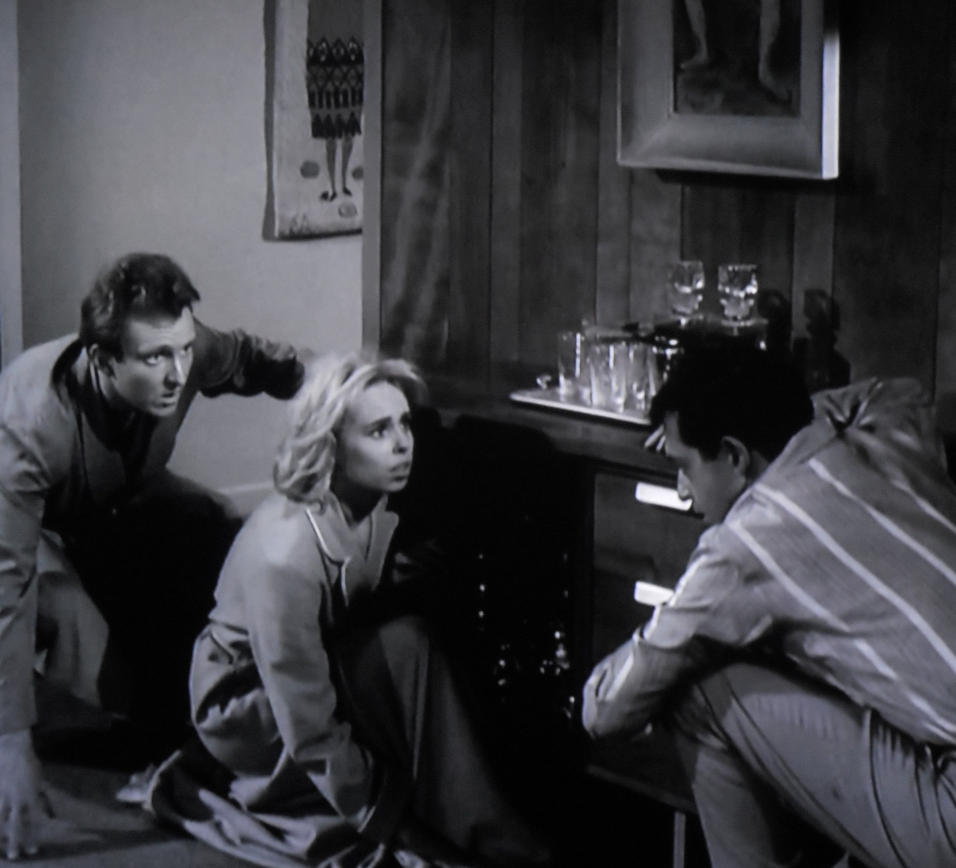 """Chris, Ruth and Bill hear Tina in another part of the house.  """"Little GIrl Lost"""""""